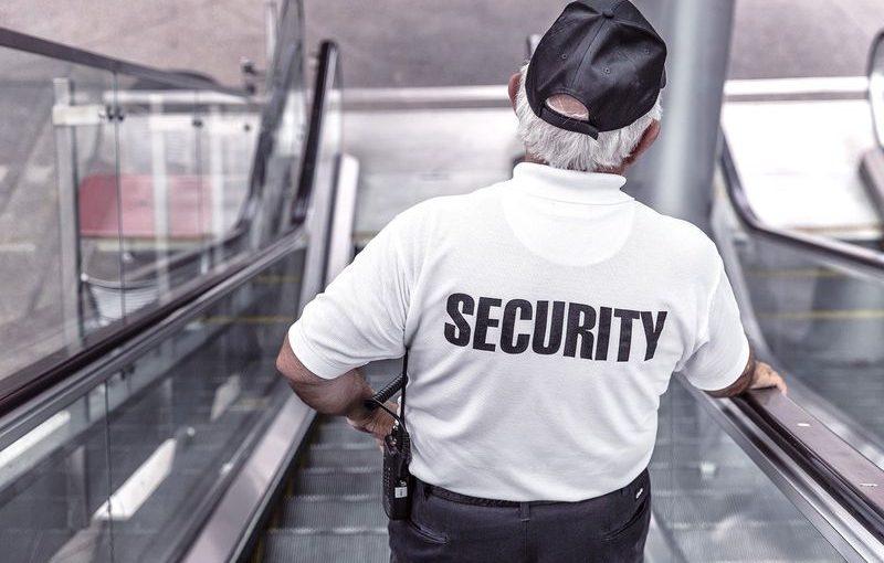 Ochroniarz – praca
